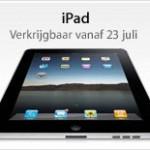 iPad in Nederland; 23 juli + prijzen
