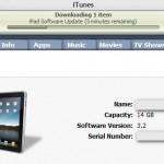 Update voor iPade beschikbaar; iOS 3.2.1