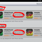 Plusje bij prijs; is dus voor zowel iPhone als ipad, maar één keer betalen