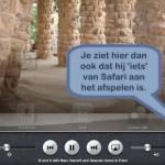 Video door laten spelen, terwijl Safari op achtergrond draait