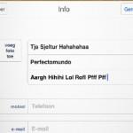Autocorrectie op iPad; woorden toevoegen aan lijst