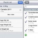 MijnTweet; Packlist Free - wat neem ik mee op vakantie?