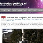 MijnTweet; Jailbreak voor iPad2, beta!