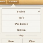 iBook collecties syncen niet met iTunes