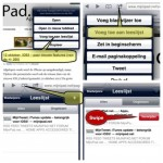 iOS5 - de leeslijst van Safari