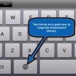 iOS6; heeft nu ook Emoji toetsenbord (smileys)