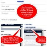 Email; paar tips en trucs voor de Van en Aan velden