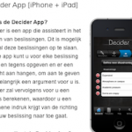 AppEvent; Decider is vandaag gratis