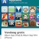 AppEvent; mooie Album App tijdelijk gratis