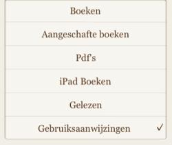 iBooksGebruiksaanwijzingen
