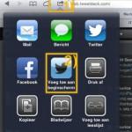 TweetDeck - niet als App, wel als Web
