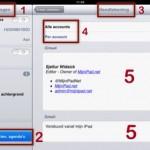 Handtekening per email account