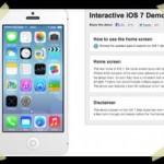 iOS7; demo beschikbaar bij Recombu.com