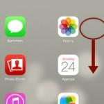 iOS7; Spotlight niet meer te vinden?