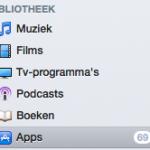 iTunes; werk al je Apps bij