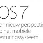 iOS7 verschijnt 18 september - meeste iWork apps gratis