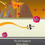 MijnTweet; RAAR, maar leuk vlieg en muziekspel gratis - Wave Trip