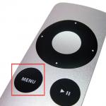 Apple TV; snel weer terug naar hoofdscherm