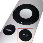 Apple TV; snel uitzetten