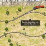 Rails; mooi 'trein spel', maar pittig te besturen, GRATIS