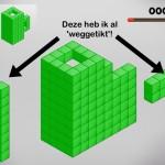 Mooi 3D blokken spel Cubic Block gratis