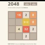 'Threes' leuk? Dan vind je '2048' webbased game ook leuk!