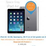 iPad Air 16gb in aanbieding bij iBood