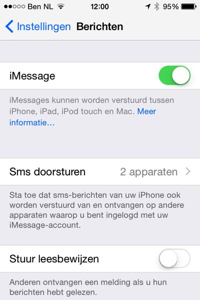 SMSviaiPad