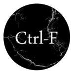Ctrl-F - oftewel de zoekfunctie - op een webpagina