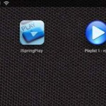 iSpringPlay; playlist als icon op je iPad (jailbreak)