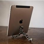 Gorillapod; niet alleen schrijven-graag deze iPad Stand maken!