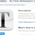 Times of London; krant 30 dagen gratis op je iPad