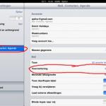 Email preview op je iPad aanpassen