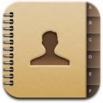 MijniPadScreen; Contacten