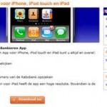 MijniPadScreen; Bankieren van Rabobank