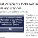 iPad met jailbreak; nieuwe iBooks werkt niet! [update]