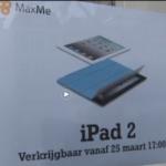 Sjelturs wijze beslissing over aankoop iPad2