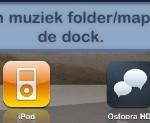 Folder/map in je dock plaatsen