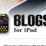 MijniPadScreen; Blogsy - mijn iPad blog tool