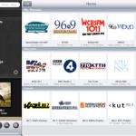 MijniPadScreen; TuneIn - mijn radio