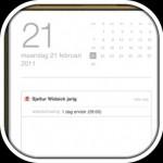 iOS5 - Agenda - verjaardagen melding