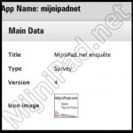 Maak een enquête op EN voor de iPad