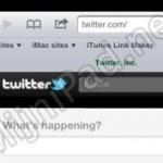 Niet de mobiele Twitter site openen op je iPad
