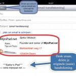 Blogsy; maak een HTML email, incl.mooie handtekening!