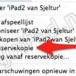Zet je oude iPad gegevens over naar nieuwe iPad! [iTunes]