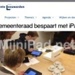 Politiek Archief; lees de vergaderstukken van je Gemeente op de iPad