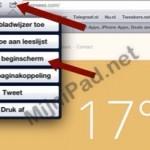 Leuke weerpagina in je browser, als app