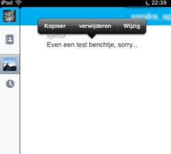 Skype Tekst aanpassen