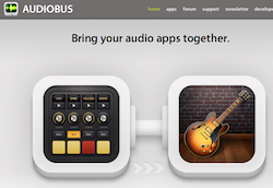 AudioBusGarageband