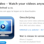 AirPlay; streamen van Films en Series